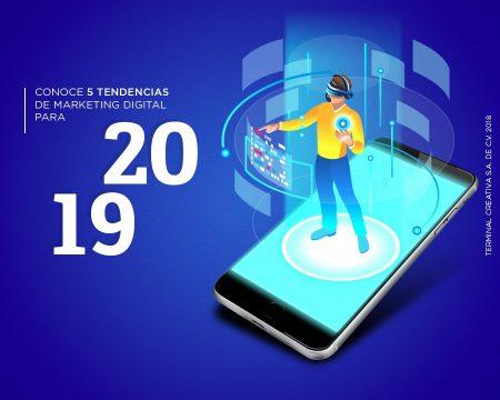 Conoce 5 tendencias de Marketing Digital para 2019